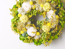 S size order-made preserved flowers wreath リース (約15cm~20cm)