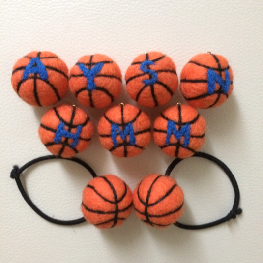 【受注製作】 バスケットボールストラップ