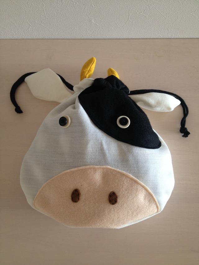 《Dさまオーダー》牛さんの巾着