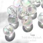 L size(12個入)Bubble blower drop beads