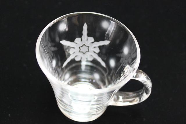 雪の結晶マグカップA