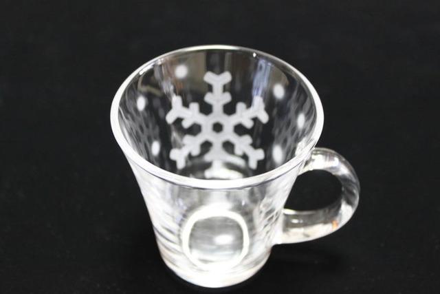 雪の結晶マグカップB