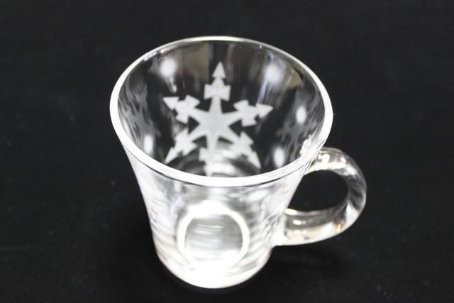 雪の結晶マグカップC