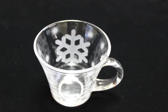 雪の結晶マグカップD