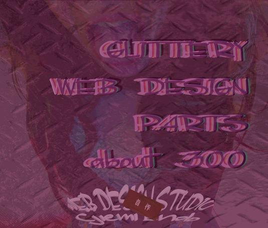 GLITTERY WEB DESIGN PARTS ABOUT 300