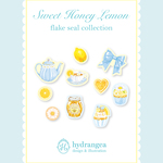 【Sweet Honey Lemon】フレークシール