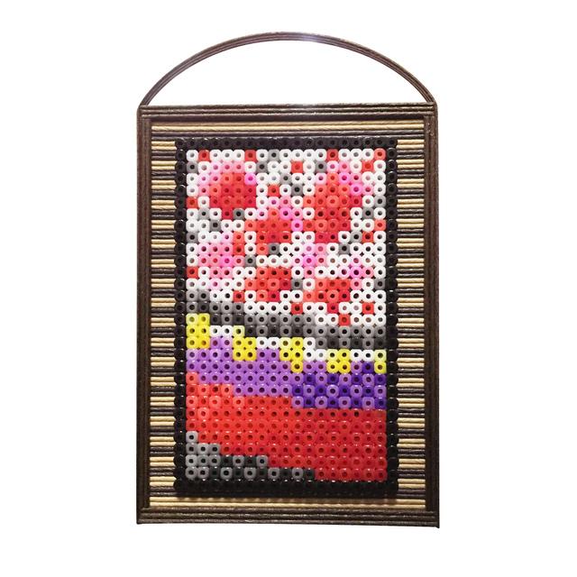 【壁掛け】花札 桜に幕