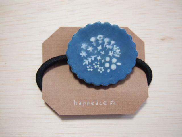 〔陶器ヘアゴム〕botanical  tart (BL)
