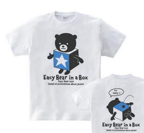 イージー☆ベア in a box WS〜WM?S〜XL Tシャツ【受注生産品】