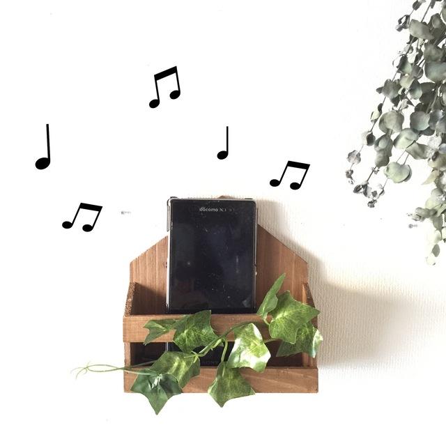 キッチンに音楽を!ハウス型アイビー