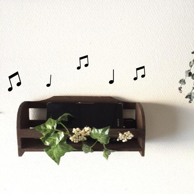 キッチンに音楽を!ホワイトベリー