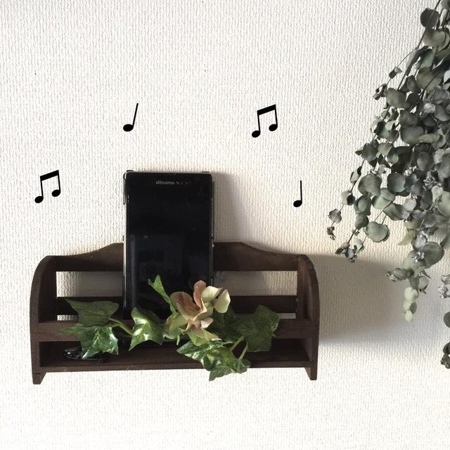 キッチンに音楽を!グリーンアジサイ
