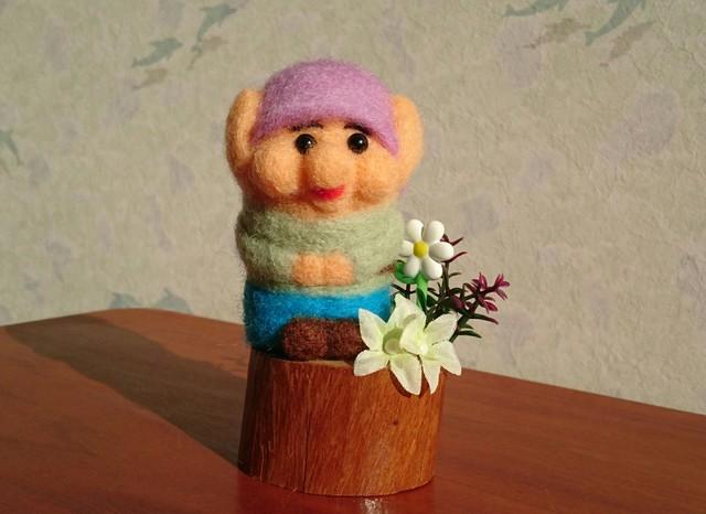 羊毛 こびとさん ?