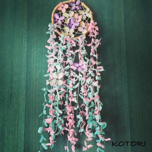 【限定】ドリームキャッチャー〜FLOWERS〜:M