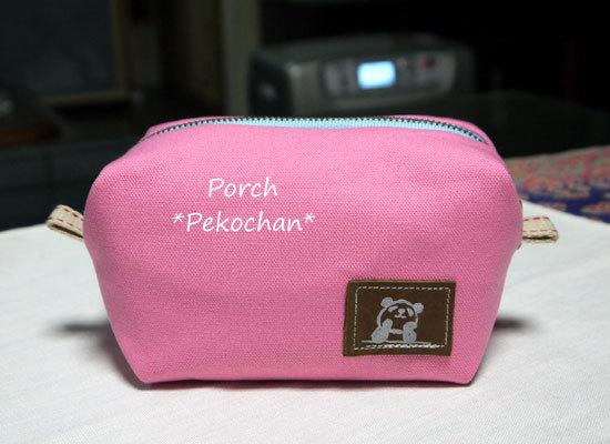 可愛い・ボックス・ポーチ...ピンク♪