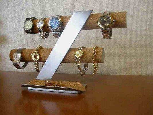 8本掛けインテリア腕時計収納スタンド