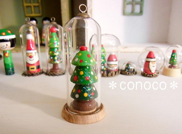 *クリスマス*ガラスドーム*ツリーB