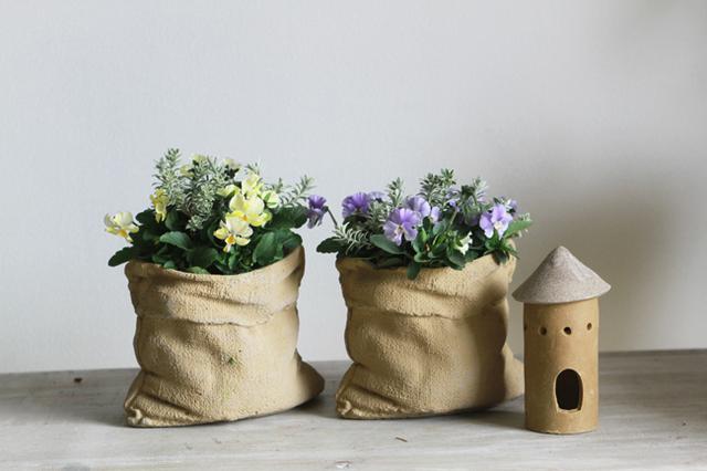 ぞうさんビオラのギャザリング-季節の花の寄せ植え-