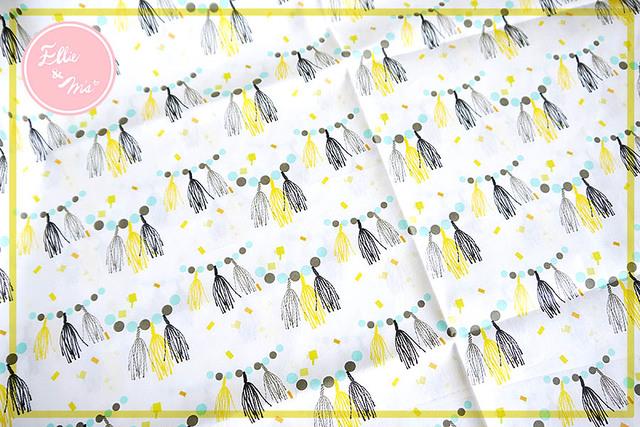 【Ellie&M's fabric】 タッセルパーティ
