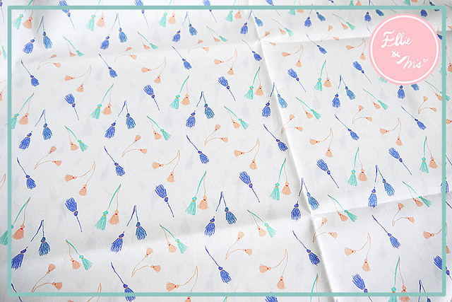 【Ellie&M's fabric】 タッセル&タッセル