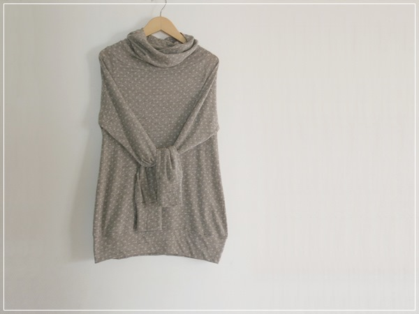 dot knit* ボリュームタートルネック
