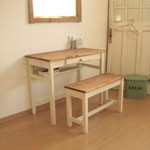 wide drawer DESK & BENCH