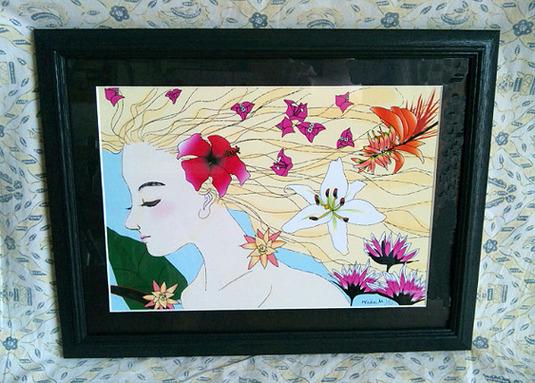 「薫る風」花と豊穣の女神フロラ