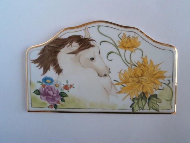 馬の絵のウエルカムボード