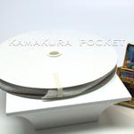 国産片面ベルベットリボン:1巻(9m)/幅10mm/ホワイト