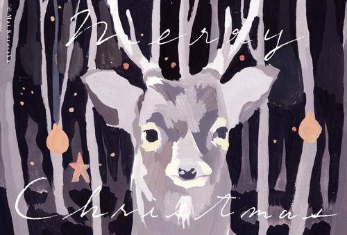 クリスマスカード 年賀状セット