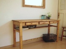 drawers3 DESK pine   # size order #