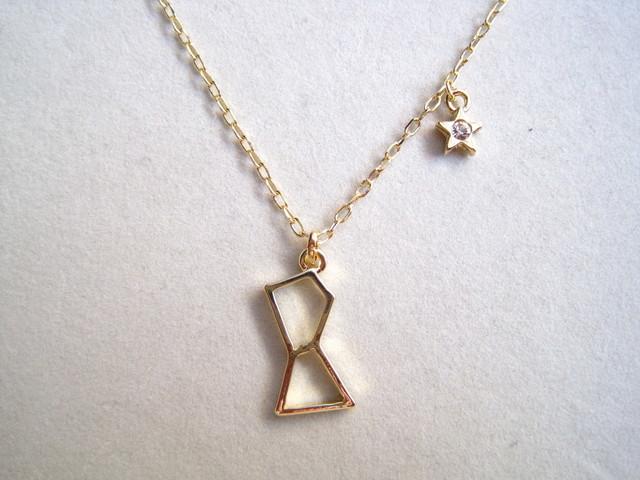 オリオン座のネックレス(ゴールド)