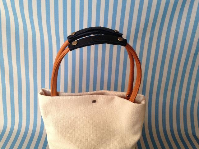 バッグの持ち手の革カバー 革のバッグ用 2個セット(小)