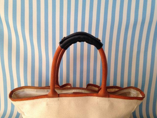 バッグの持ち手の革カバー 革のバッグ用 2個セット(大)