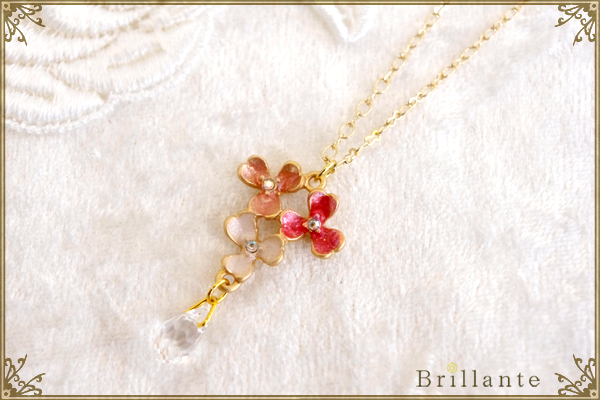 thaleia necklace(pink)