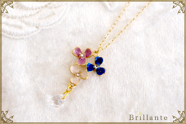 thaleia necklace(blue)