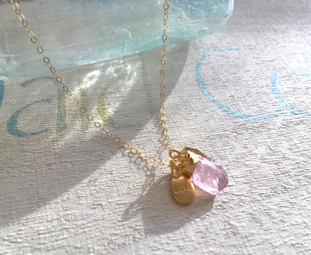 Love with Rose Quartz       *14kgf*