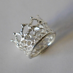 ★再販★crown lace ring(sv)