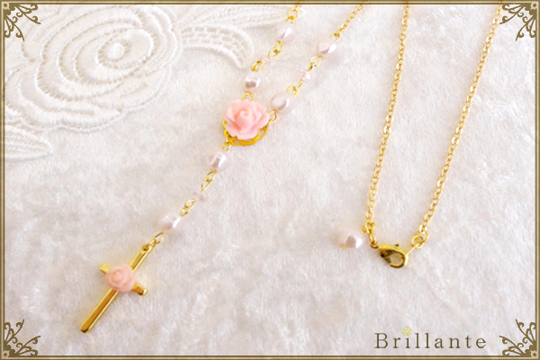 harmonia necklace(peach)