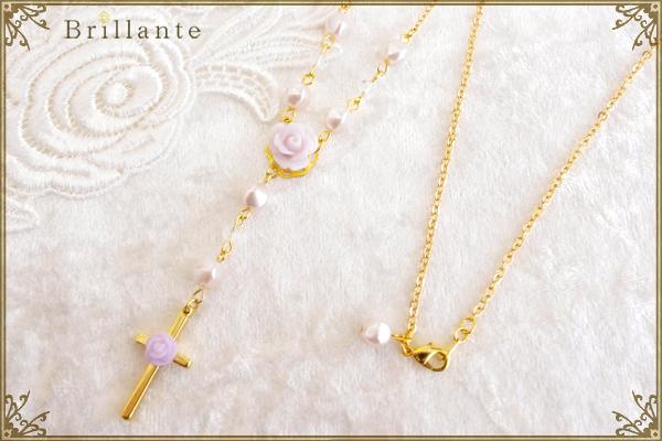 harmonia necklace(lavender)