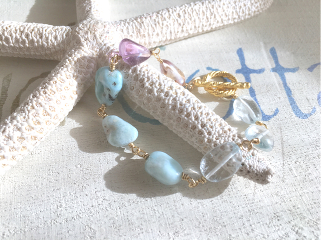 Mermaid's Seaside healing Bracelet