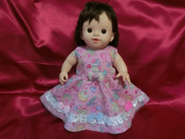 ぽぽちゃん メルヘンスイーツドレス(ピンク)