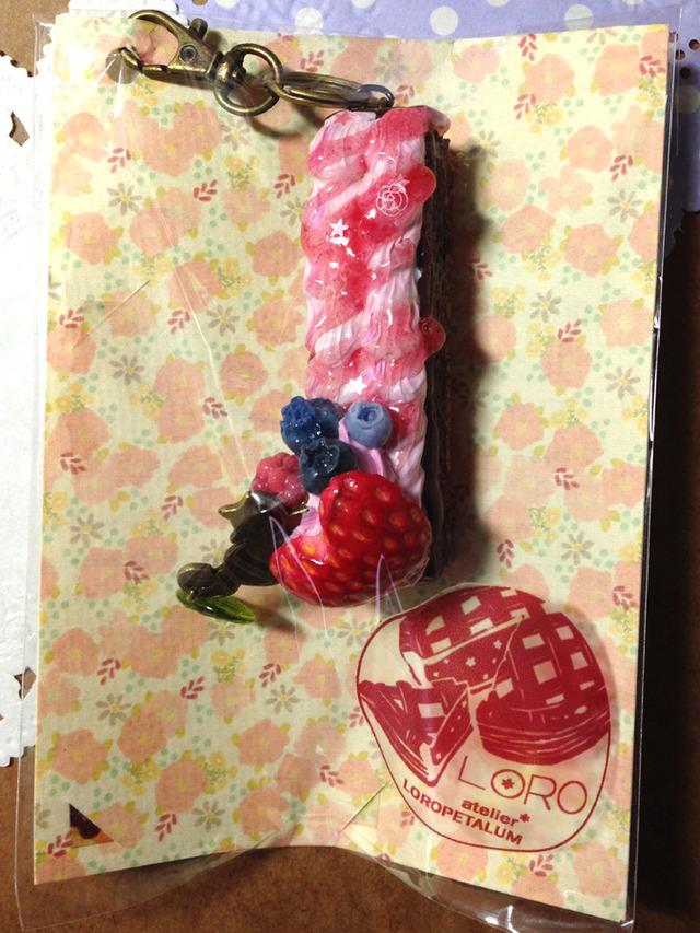 つまみぐい猫のスティックケーキ(苺)
