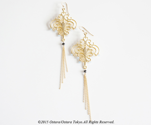 【14KGF】Bohemian Turkish Earrings