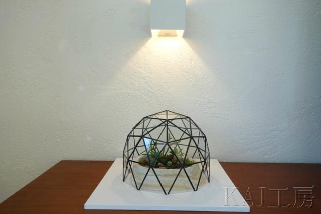 ジオデシック・ドーム型ガラスカバー