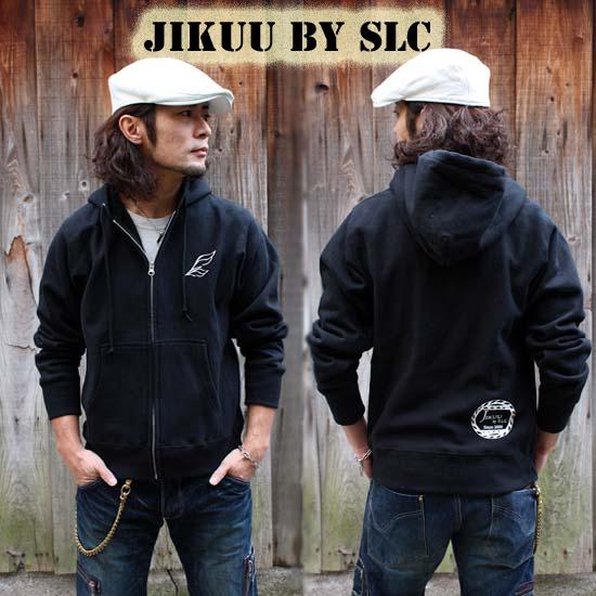 【JIKUU】 ヘビーウェイトスウェット/裏起毛ジップパーカー