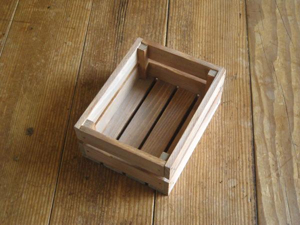 木製ハガキハーフサイズ大ケース/チーク