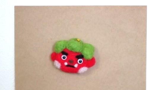 ☆受注生産☆鬼さんマグネット 節分 羊毛フェルト 2月の飾り物