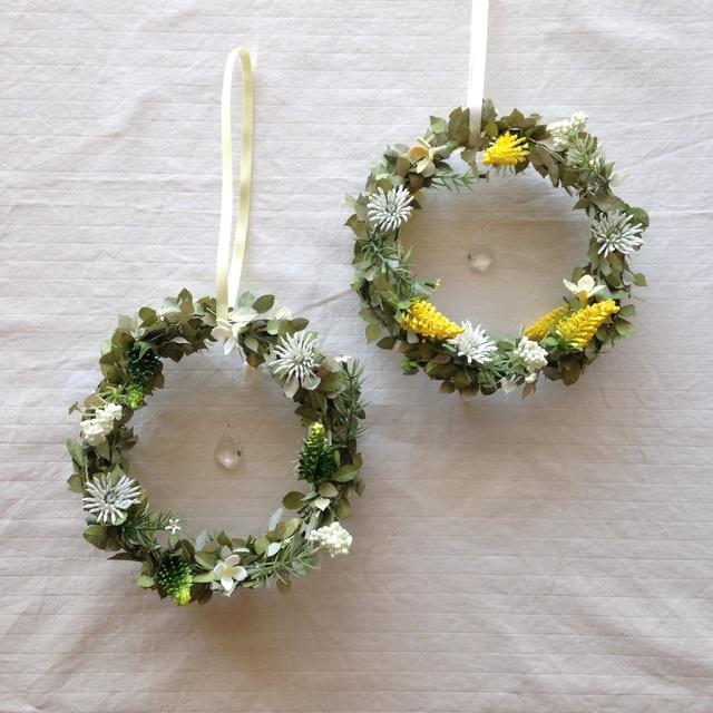 wreath サンキャッチャー