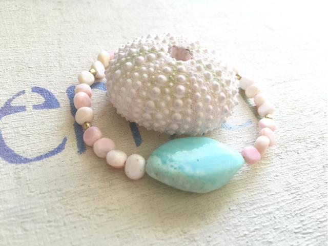 Pink Sand Beach  シンプルブレスレット